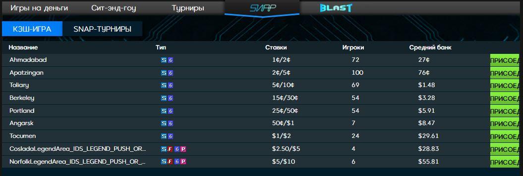 888 Poker - snap