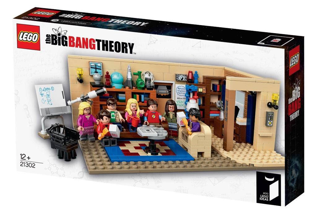 Заработок на новых идеях моделей Lego - выпущенный набор по Теории Большого Взрыва